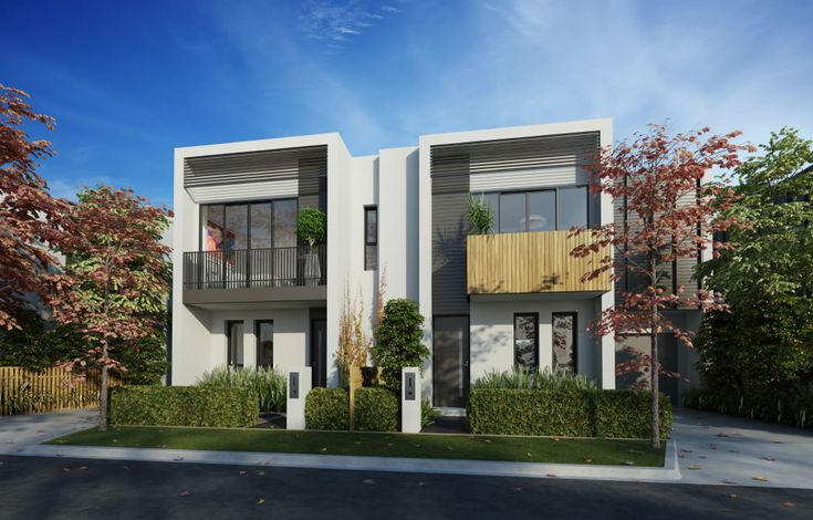 Townhouse facades australia google search facades for Modern townhouse design