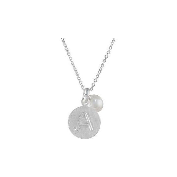 NOVICA Cultured Pearl Letter A Pendant Necklace from Thailand (1 200 UAH) ❤ liked on Polyvore featuring jewelry, necklaces, pearl, toplevelcatnecklaces, white pendant necklace, circle initial pendant necklace, dangle necklace, freshwater cultured pearl necklace and letter pendant necklace
