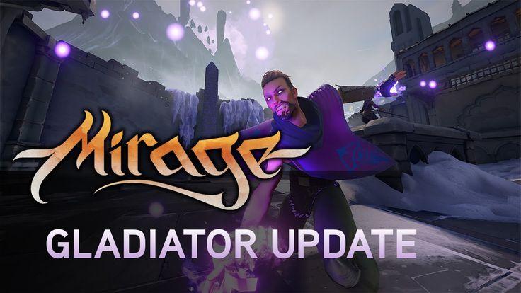 Mirage: Arcane Warfare - The Gladiator Update https://www.youtube.com/watch?v=9w6qbCf03XA #gamernews #gamer #gaming #games #Xbox #news #PS4