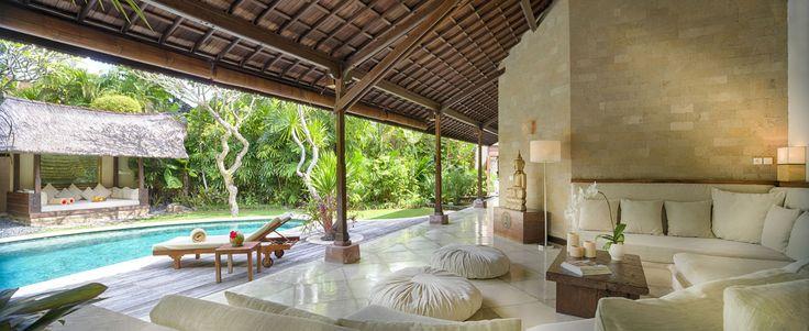 Villa 4 pool at Villa Kubu, Seminyak, Bali