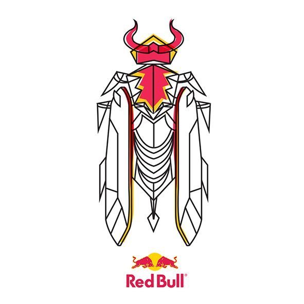 Red Bull by Kickatomic