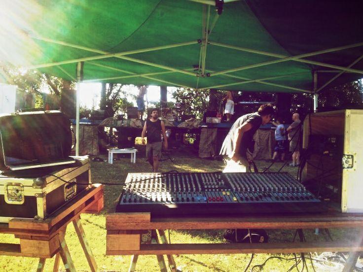 Fernandez Rock – Festival (2013) Buenos Aires, Argentina #festival #camping #woodstock #sound #mixer