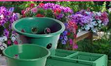 This is soooooo cool!!! Planting and Caring for a hanging basket... Think about it, take a pot u have already and cut holes in the sides and follow the directions on this site!! TUTORIAL!!