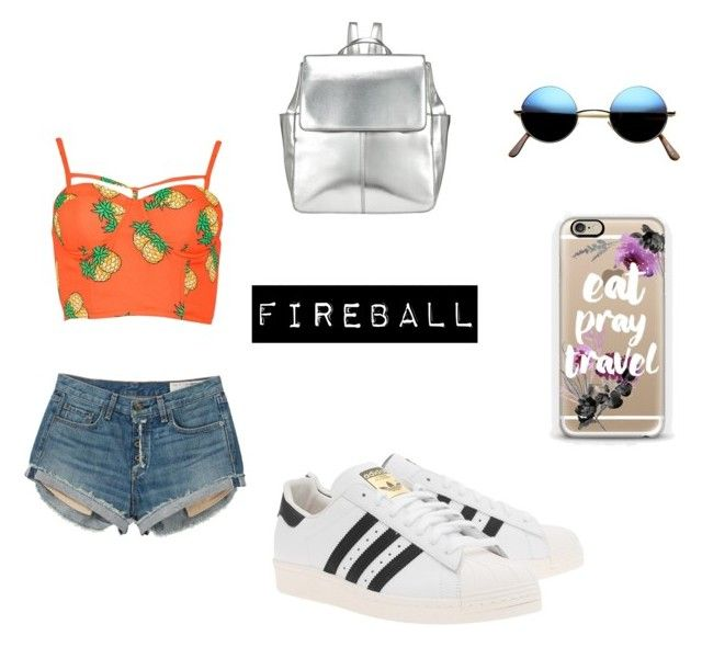 Festival by fourleafclover011 on Polyvore featuring polyvore, fashion, style, rag & bone, adidas Originals, Kin by John Lewis and Casetify
