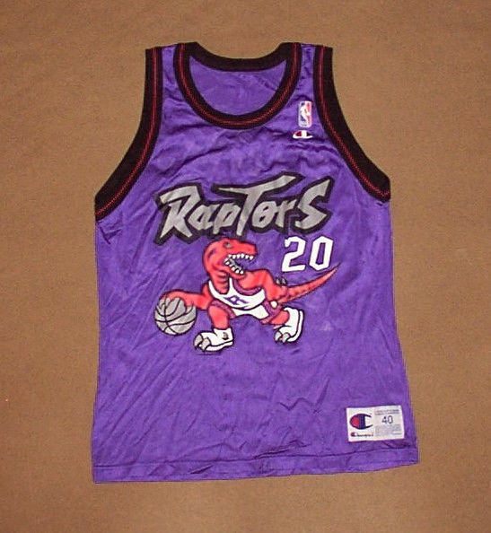 235bd239677 ... Vancouver Canada On VINTAGE Toronto Raptors JERSEY Damon Stoudamire NBA  Champion SZ 40 Basketball . ...