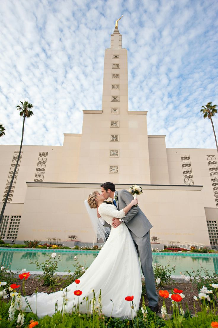 Angie Whitaker Photography: Los Angeles Vintage Wedding, LA Temple ...