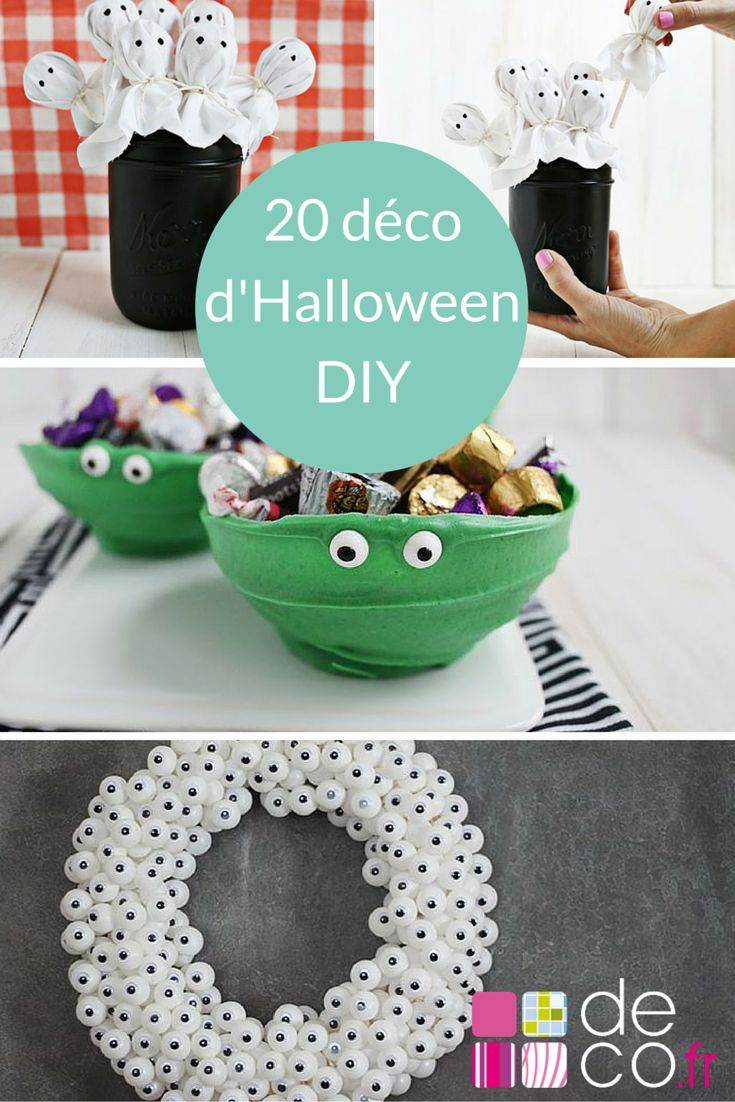20 d corations d halloween faire soi m me photos - Deco halloween a faire ...