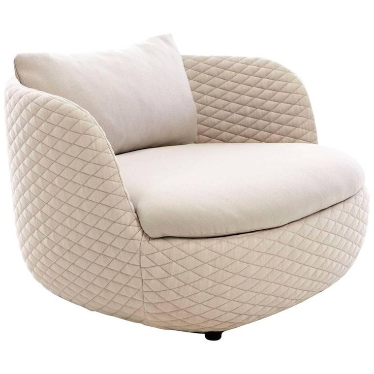 Moooi BART Revolving Armchair In Fabric Or Leather