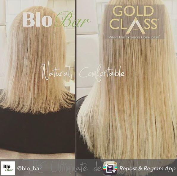 Gold Class Hair Transformation - from Blo Bar Buckhurst Hill #beforeandafter #transformation  #SimplyGoldClass #Hairextensions #Buckhursthill #summerhair #qualityhair #naturalhair #hairexperts #blonde #highlights #haircolour