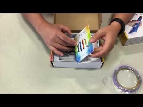 Crayon Impression 3D Filament 3D Imprimante Francais ThinkUnBoxing.com