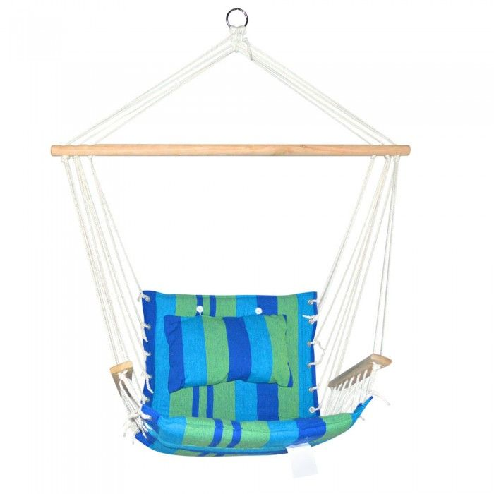 Hammock Swing Chair - Bllue Green