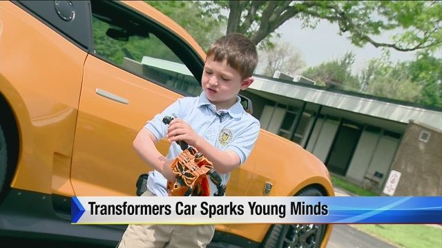 Transformers car sparks young minds at Detroit County Day | Community  - Home