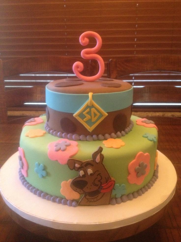 Scooby Doo Birthday Cake Scooby Doo Party Ideas