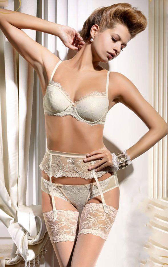 #lingerie #white #Gracya