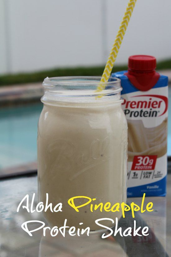 Premier Protein Shakes Now at Target + Aloha Pineapple Protein Shake Recipe (sponsored)