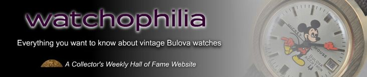 Bulova - Most Popular & Collectible Vintage Bulova Watches | Watchophilia.com