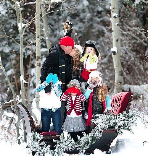 foto de natal familia