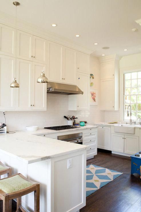 Kitchen Peninsula - Transitional - kitchen - Art Haus Beautiful