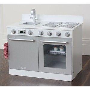 White Gourmet Toy Kitchen