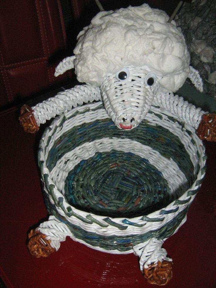 košík ovečka