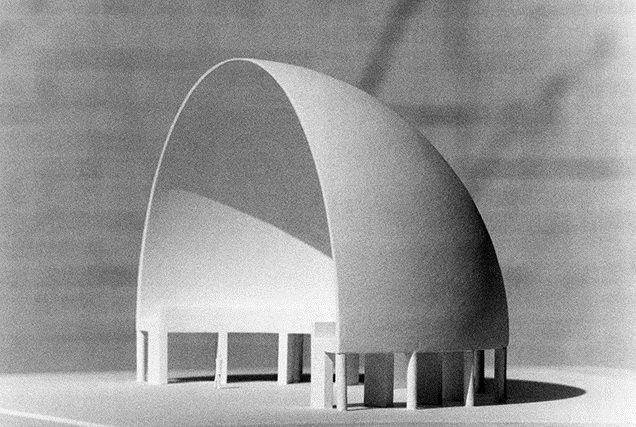Model of the half-dome