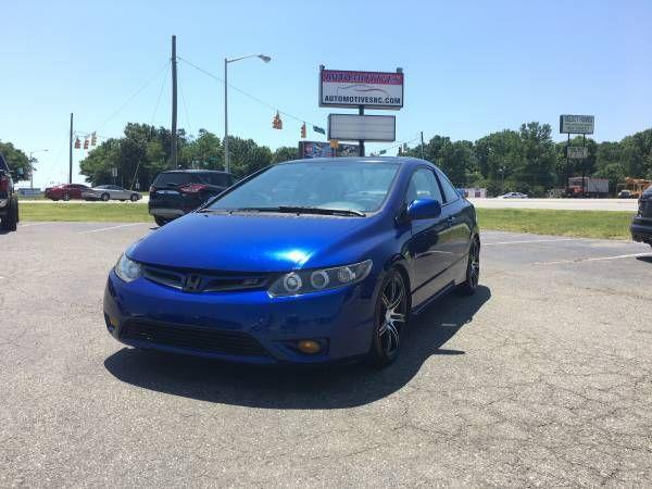 2006 Honda Civic SI 2.0 VTEC45 Per Week Financing Available Cheap (FINANCE GOOD OR BAD CREDIT!!)