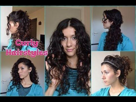 5 причесок из кудрявых волос. Как укладывать кудрявые волосы?