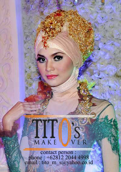 It's beautyfull with our make up and wardrobe