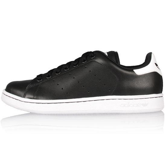 adidas stan smith noir semelle blanche, ADIDAS Baskets Stan Smith 2 Homme Noir et blanc