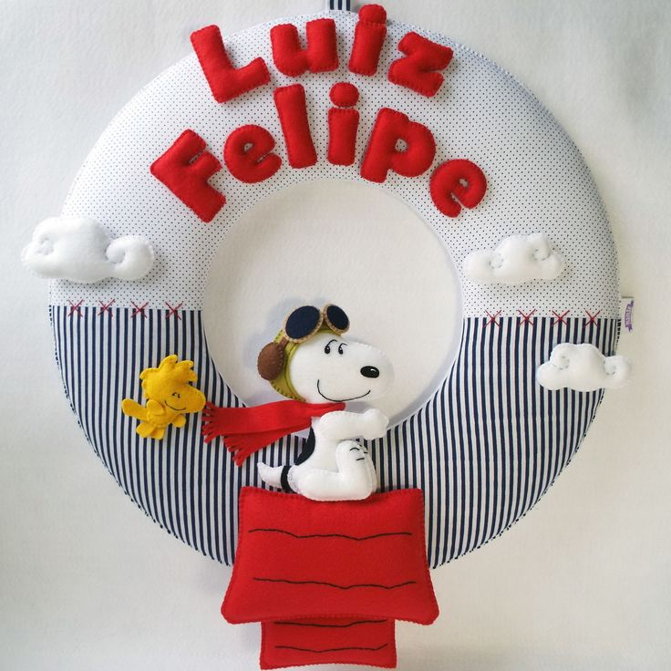 Guirlanda Snoopy