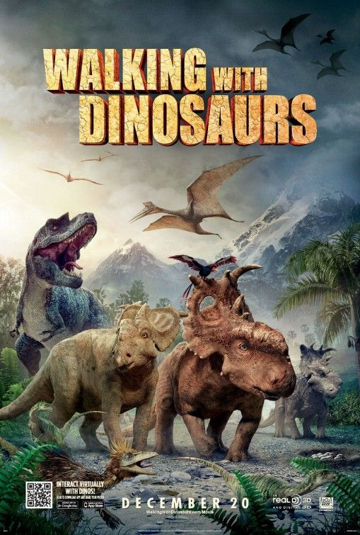 Walking with Dinosaurs 3D Movie Poster #5 - Internet Movie Poster Awards Gallery
