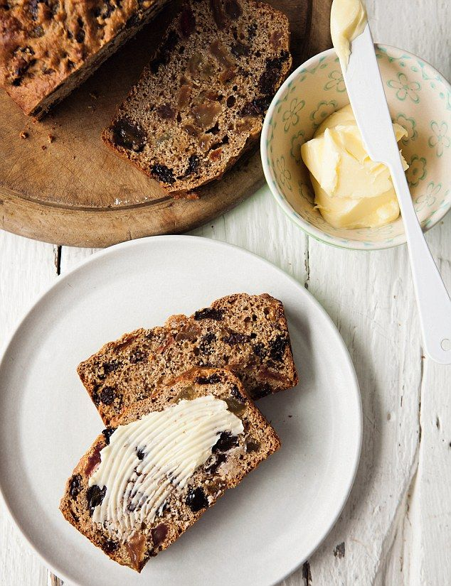 A lovely old-fashioned bake, this is a great thing to serve up at teatime when you fancy a little something. Spread with lashings of good butter.