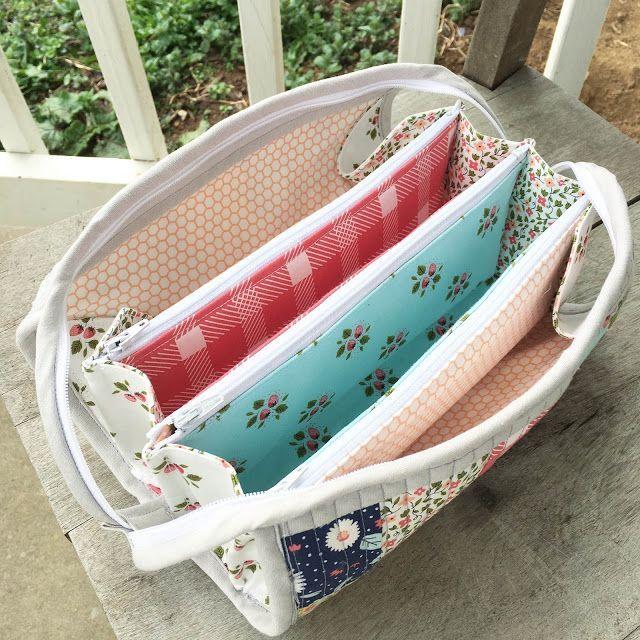 My first Sew Together Bag + Tips ~ Hilltop Custom Designs
