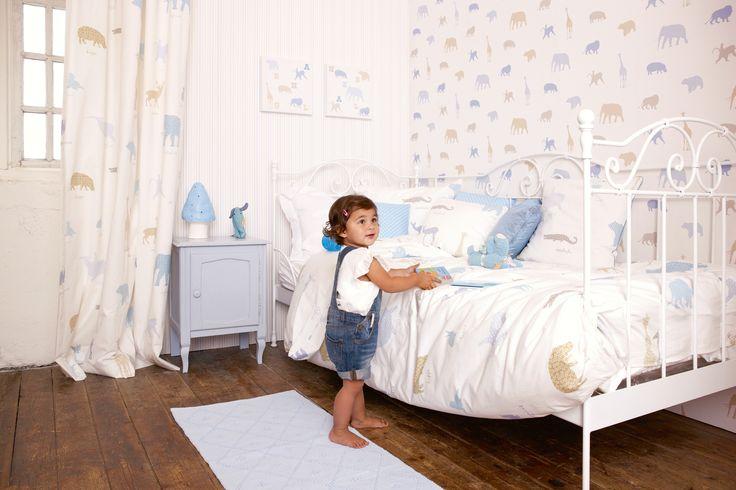 33 best para los reyes de la casa images on pinterest - Habitaciones con papel pintado ...