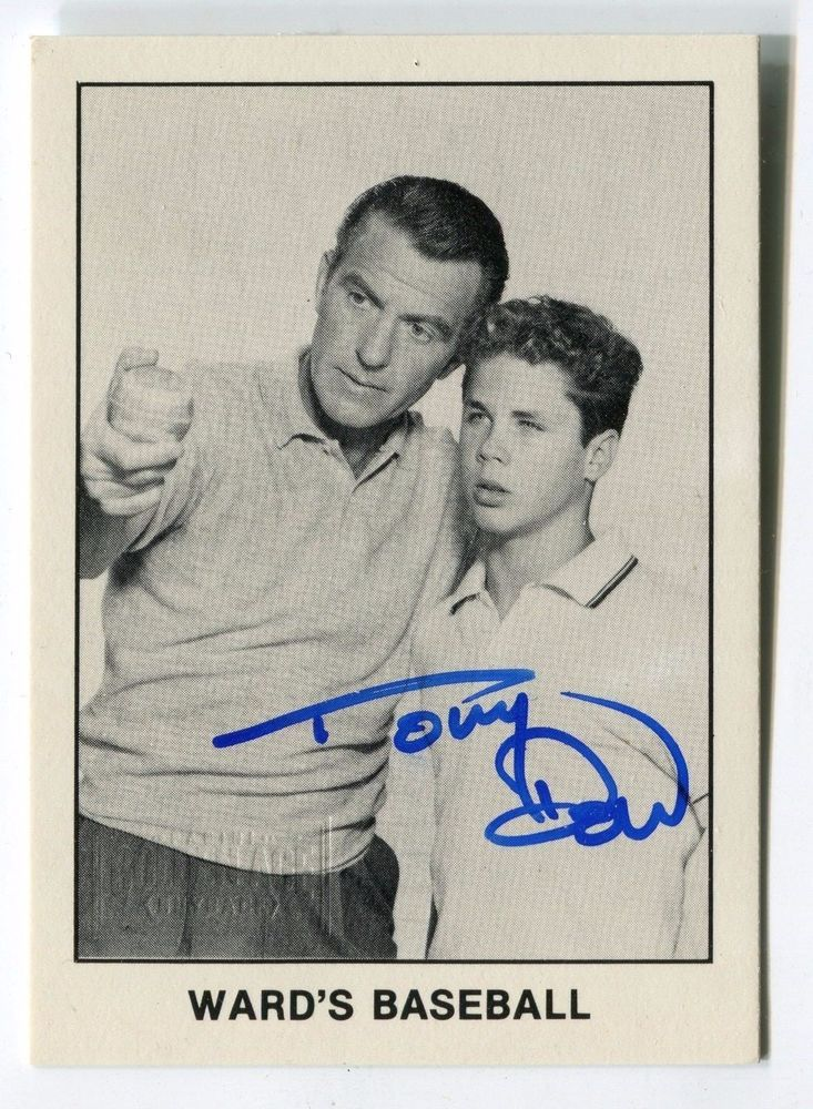 Tony Dow 2014 Panini Golden Age Classic Buyback Autograph Auto Card *AA1435