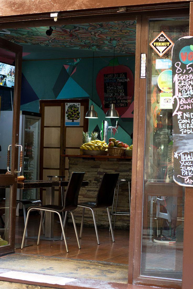 #barcelona #gemusegarten #spanien #veganspain Veggie Garden: Veganes Restaurant …
