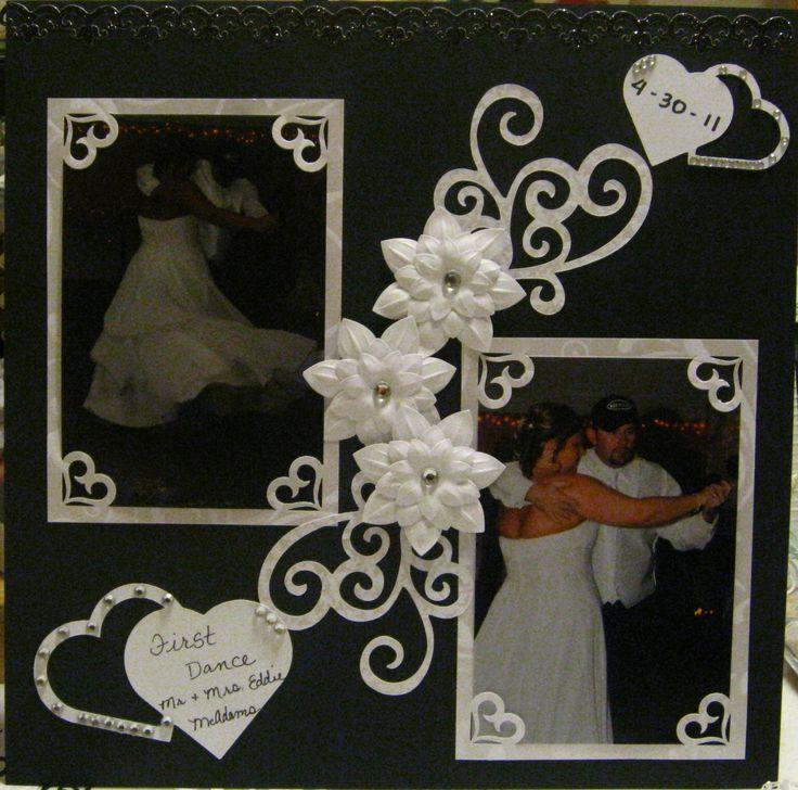 48 Best Wedding Scrapbook Layouts Images On Pinterest