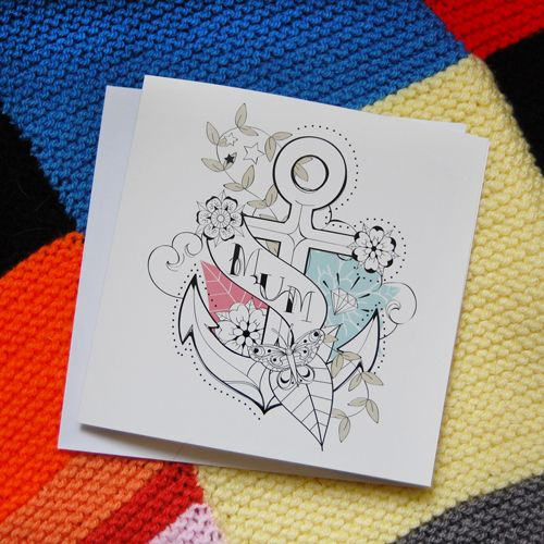 Mother's Day Card - Tattoo £3.00