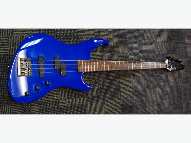 Guild Pilot Bass Guitar in RARE Blue With hard case Made in The USA  (190997-2)