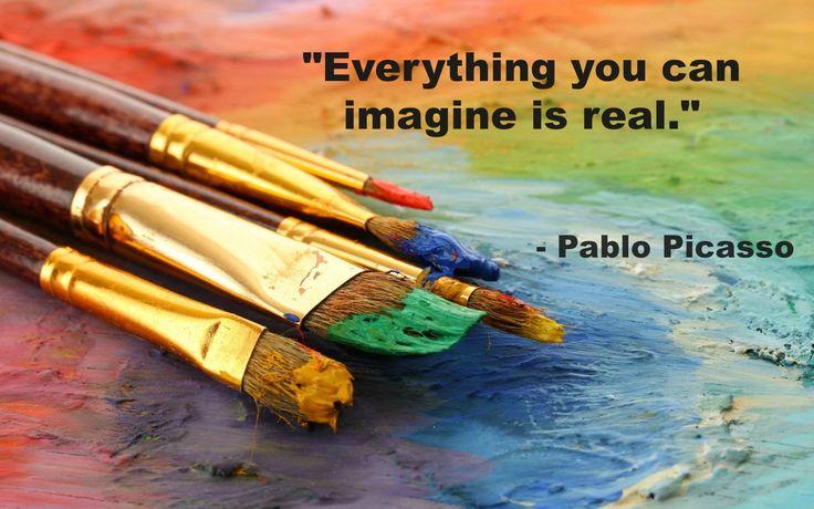 #Art #Quote #PabloPicasso