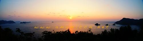 My home town;) Amami Oshima  sunset in Nishikomi