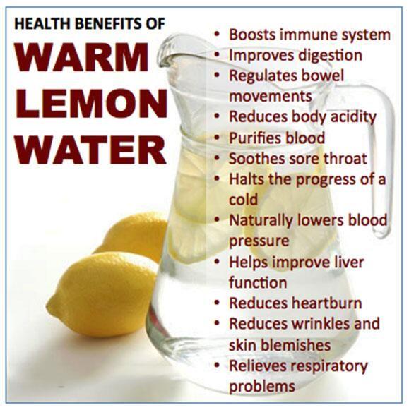 Benefits of Warm Lemon Water, Courtesy: @DailyHealthTips (Twitter)