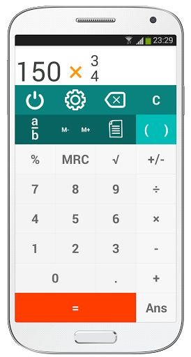 King Calculator v2.1.1 [Premium]   RKing Calculator v2.1.1 [Premium]  Requirements:4.0.3Overview:The best calculator for Android. Easy to use intuitive and functional it's the only calculator that really allows work with fractions.  With 5 beautiful themes and three screen layouts that fit any need.  Designed to be useful to anyone from kids to grown-ups so whether you are looking for a basic or advanced calculator. Excellent for schoolwork college/university studies sciences engineering or…