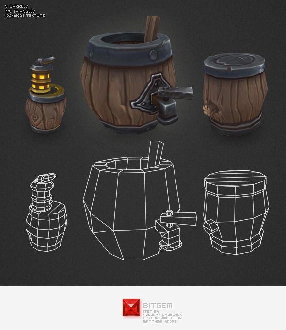 Low Poly Props, Scenery and Landscapes | ThemeForest