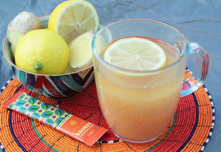 how to make baobab juice from powder