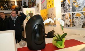 Fethiyeli heykeltıraşın eserleri Paris'te