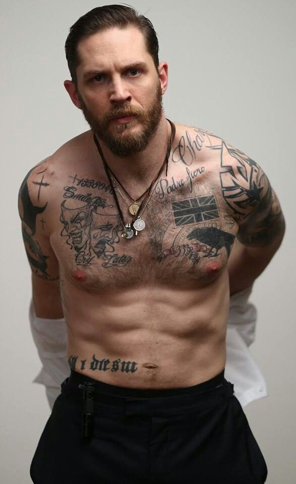 Omg.... Tom Hardy shirtless Esquire magazine pic.... Epicness achieved. Pretty sure I just had an orgasm.