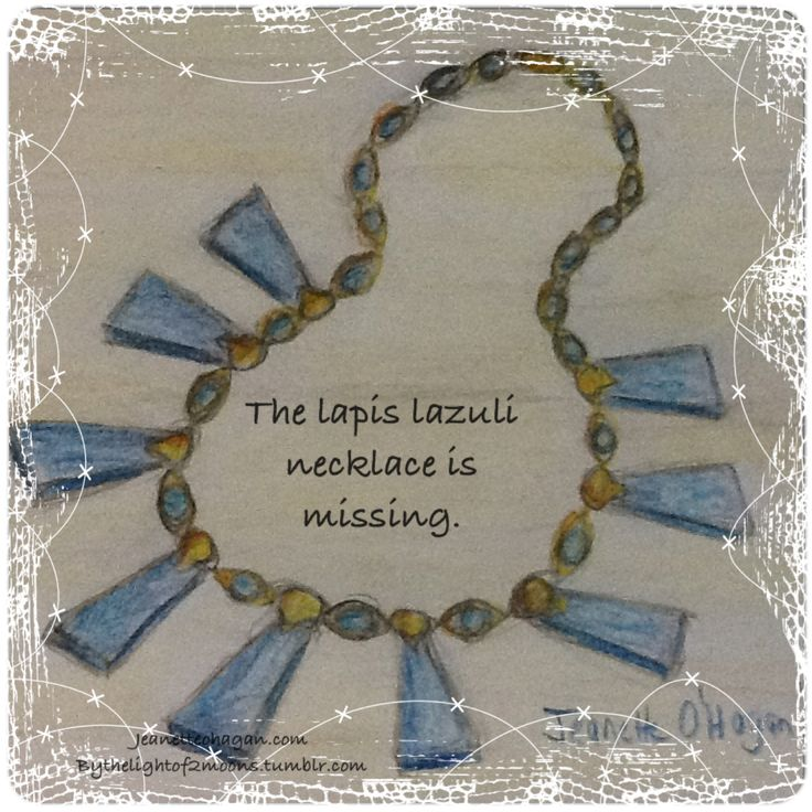The Missing Necklace by Jeanette O'Hagan read it http://jeanetteohagan.com/nardva-files/more-stories/the-missing-necklace/part-one-the-missing-necklace/