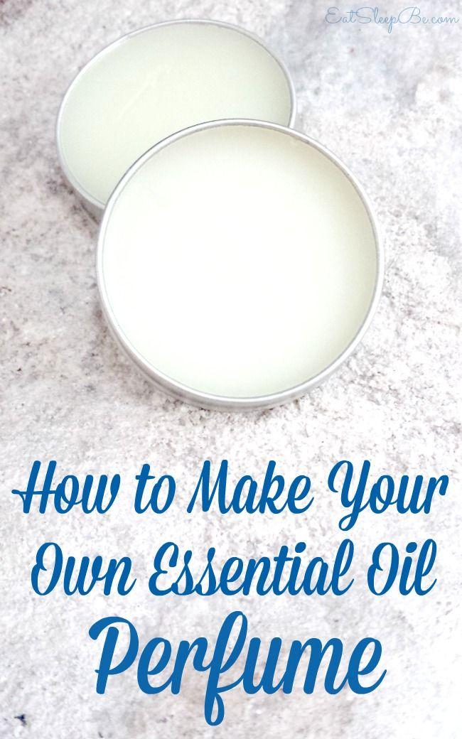 DIY essential oil perfume. | Perfume | Pinterest