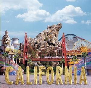 Disney's California Adventure, Anaheim, California (before they changed the entrance)